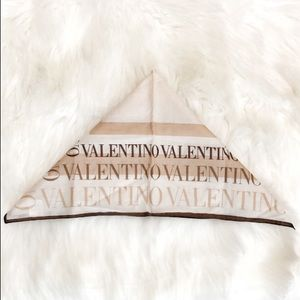 ** 1 DAY SALE ** Valentino Square Print Scarf Wrap